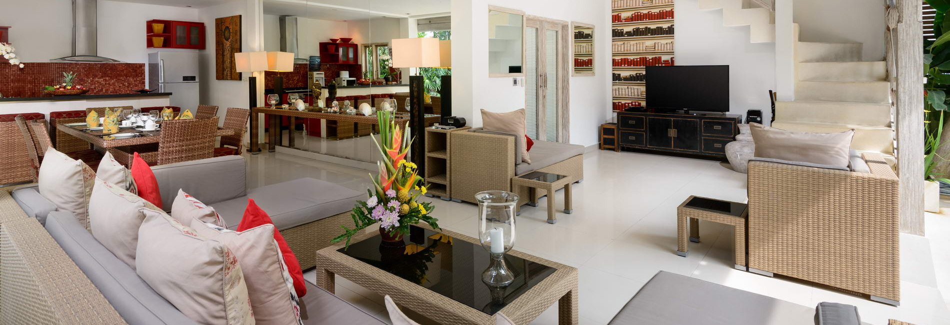Villa Rama Sita U2013 Living, Dining And Kitchen
