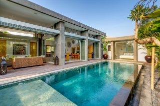 Villa Aramanis - Bamboo - The villa & pool