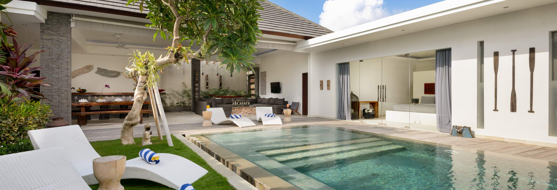 Villa Kyah 3 bedroom villa in Seminyak. Photo by Bali Villas Online.