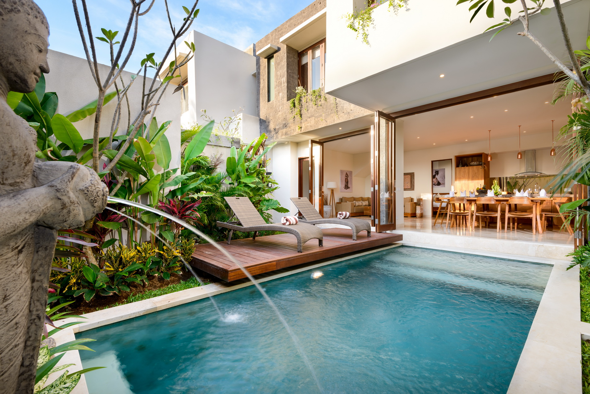 Villa Maria 4 bedroom villa in Legian, Bali. Photo by Asia Holiday Retreats.