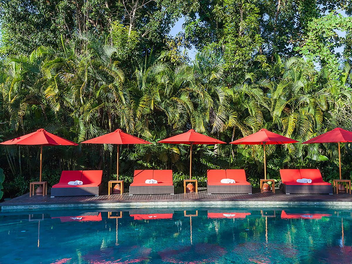 15 The Beji Pool Deck Sun Loungers
